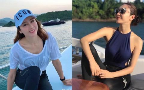最美CEO黎姿庆父母金婚 大15岁「残疾富商」尪罕现身